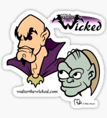 Walter the Wicked & Smeagor! Sticker