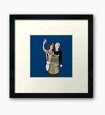Doctor Who - 12th doctor Framed Print