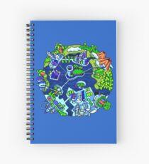 D.A. Garden - Good Future Spiral Notebook