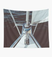 Sailing proud in the sun Wall Tapestry