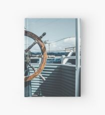 Captain of luxe Hardcover Journal