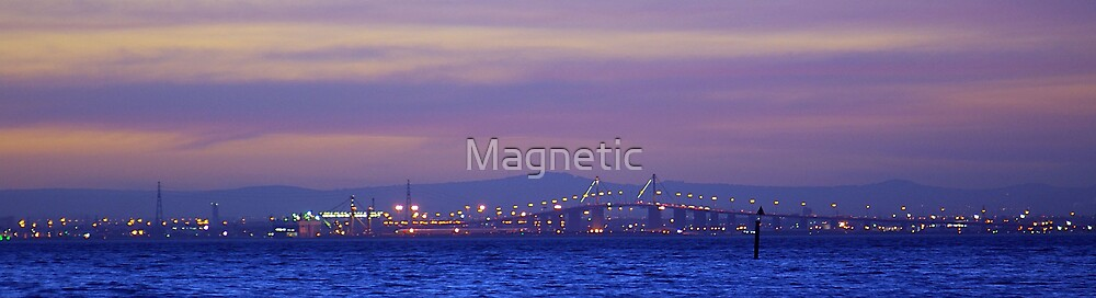 West Gate at Night by Magnetic