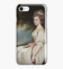 George Romney English  Elizabeth Taylor, Mrs. Charles Chaplin,  iPhone Case/Skin