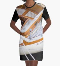 Classic boating Graphic T-Shirt Dress