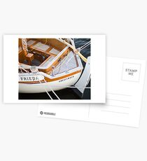 Classic boating Postcards