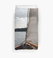 Out upon the waters Duvet Cover