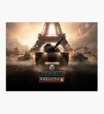 World of tanks Photographic Print