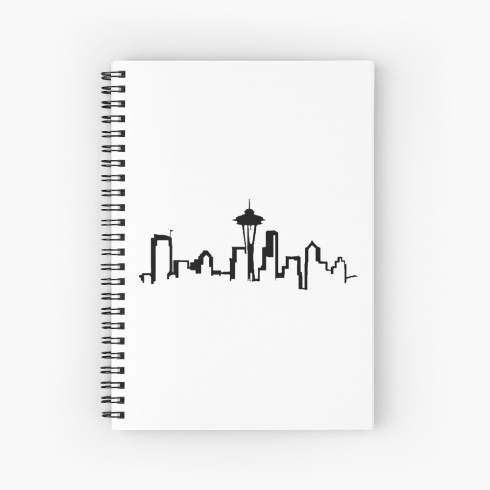 SEATTLE SKYLINE Cuaderno de espiral