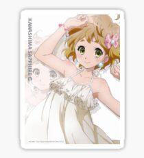 Sapphire Kawashima Sound Euphonium! Sticker