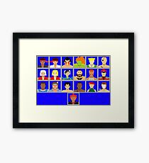 Select Your Character - Ultra Street Fighter 2 Framed Print