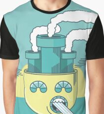 Letting off steam - In color Graphic T-Shirt