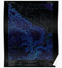 USGS TOPO Map Colorado CO Paradox 234062 1960 24000 Inverted Poster