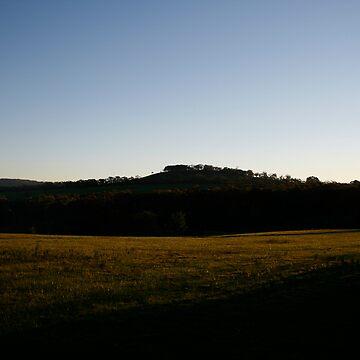 Sunset-Kny Farm by fourstar82