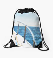 When oceans rise Drawstring Bag
