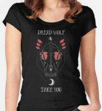 Dread Wolf Take You Women's Fitted Scoop T-Shirt