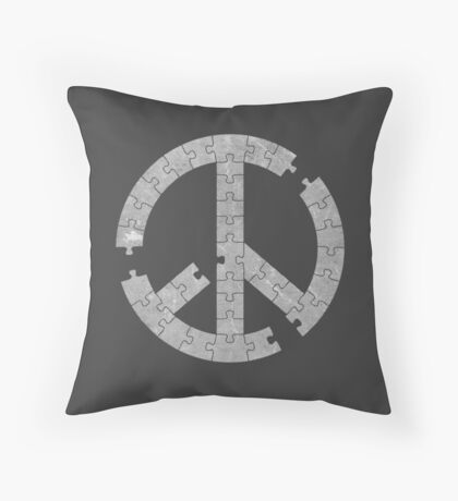 Puzzle Peace Throw Pillow
