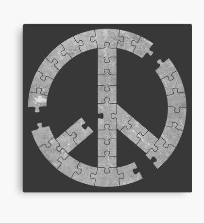 Puzzle Peace Canvas Print