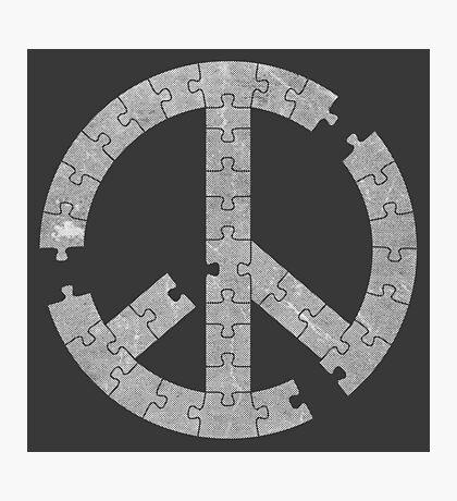 Puzzle Peace Photographic Print