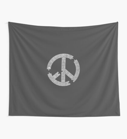 Puzzle Peace Wall Tapestry