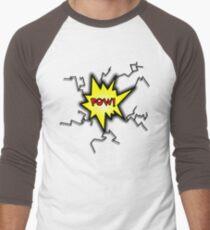 POW Caption Cushion Cover Men's Baseball ¾ T-Shirt