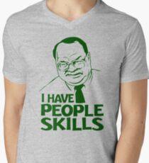 People Skills Men's V-Neck T-Shirt