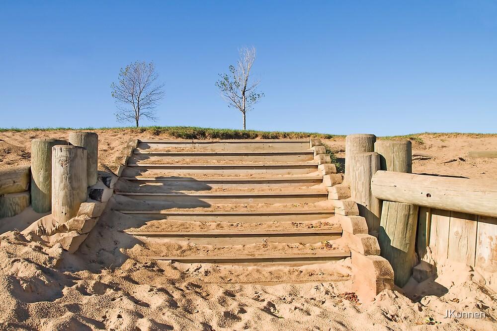 Stairway in Sand by JKunnen