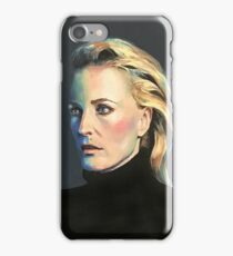 Gillian Anderson Painting (most products) iPhone Case/Skin