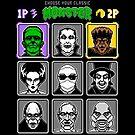8 Bit Monsters by Tom Burns