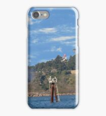 Newport Oregon - Yaquina Bay Traffic iPhone Case/Skin