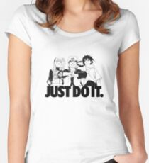 Naruto Team 7 - Just Do It.  Women's Fitted Scoop T-Shirt