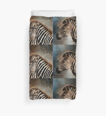 Plains Zebras Duvet Cover