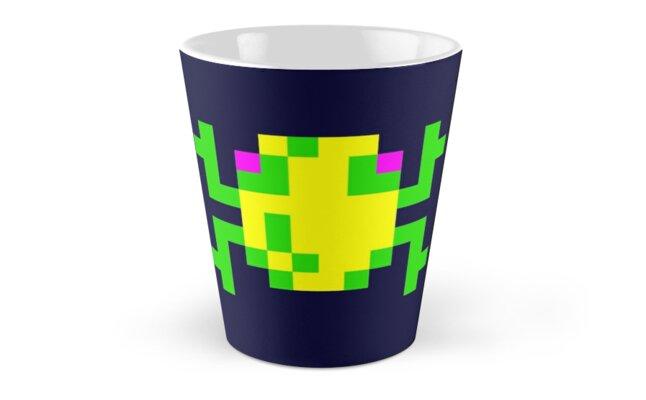 Frogger Pixel Frog Tall Mug