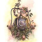 Vanitas wall telephone  by AnnimelArt