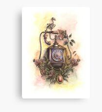 Vanitas wall telephone  Canvas Print