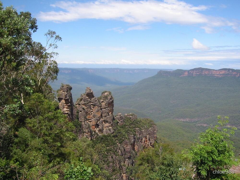Three Sisters, NSW, Australia by chloe981