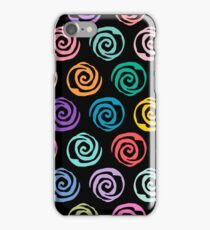 Circles Abstract Seamless Pattern II iPhone Case/Skin