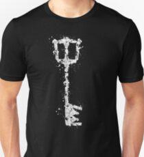 Kingdom Hearts Key - Splatter art Unisex T-Shirt
