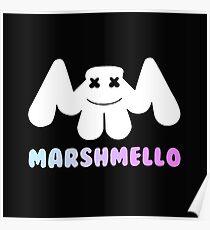 Marshmello Unisex T-shirt Poster