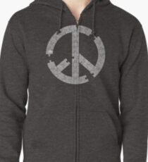 Puzzle Peace Zipped Hoodie