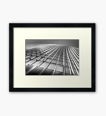 The Walkie Talkie Abstract Framed Print