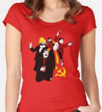 The Communist Party (variant) Women's Fitted Scoop T-Shirt