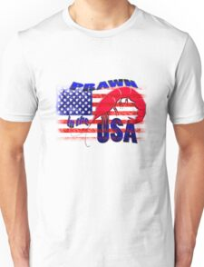 Prawn in the USA Unisex T-Shirt