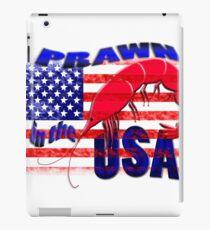 Prawn in the USA iPad Case/Skin