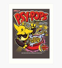 Psy-pops Art Print
