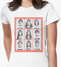 Twice Womens Fitted T-Shirt