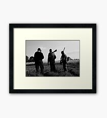 Gone Shooting Framed Print