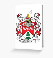 Ashbury Coat of Arms Greeting Card