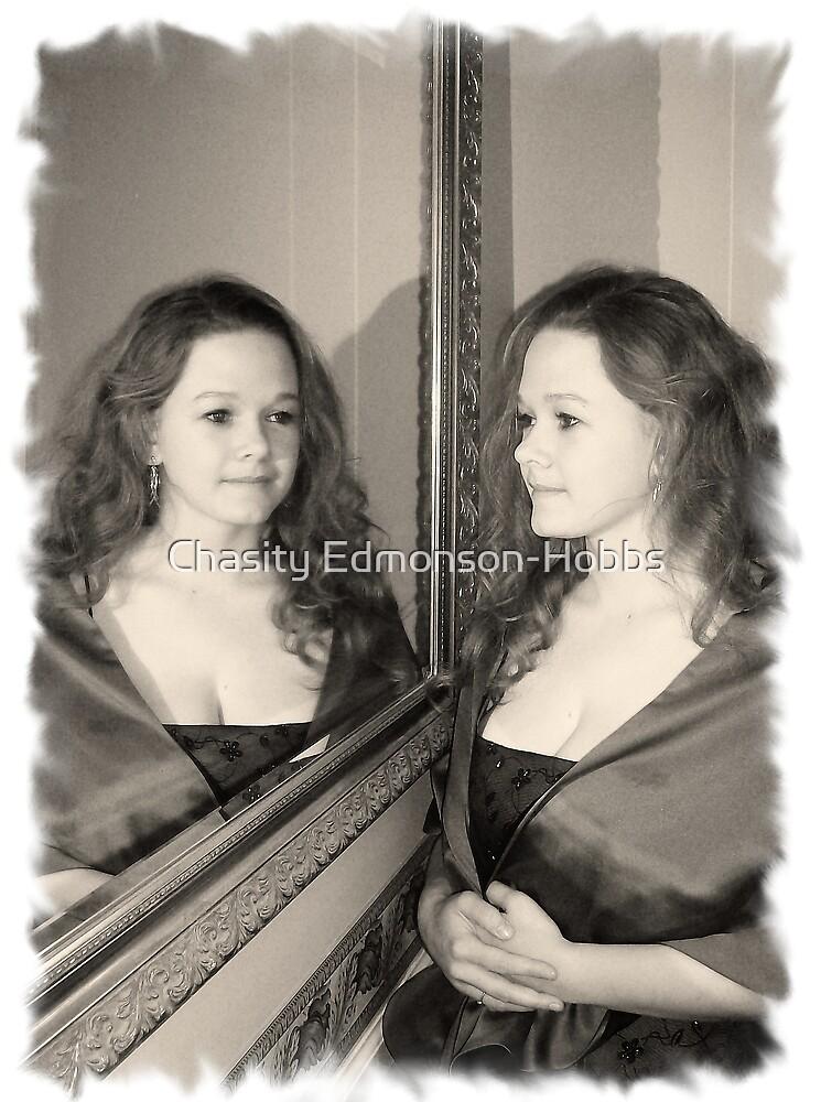 Mirror image  by Chasity Edmonson-Hobbs