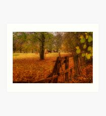 In the country Art Print