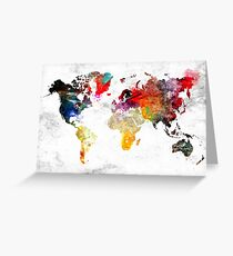 World Greeting Card